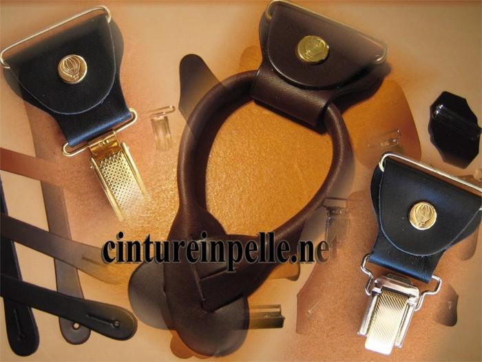 prezzo più basso con vera qualità comprare Clips per bretella Erregiottanta Ricambi in cuoio con clips ...