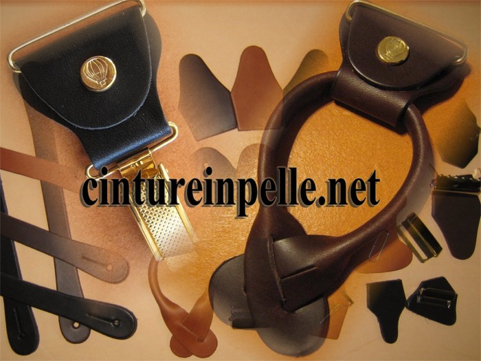 Ricambi per bretella in cuoio erregiottanta regolatori per bretella