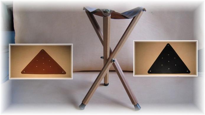 Sedute in pelle per sgabelli a tre pidi erregiottanta articoli